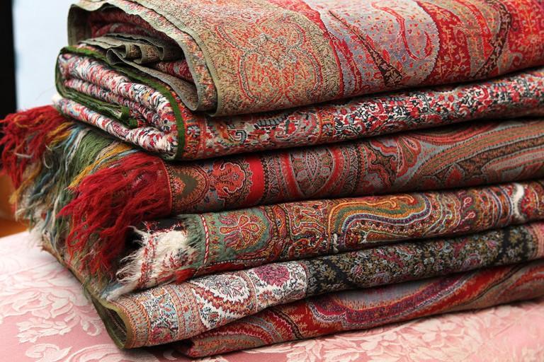 Antique Kashmir Shawls