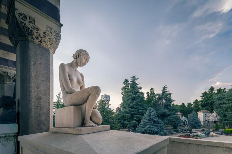Milan, Italy, Monumental cemetery