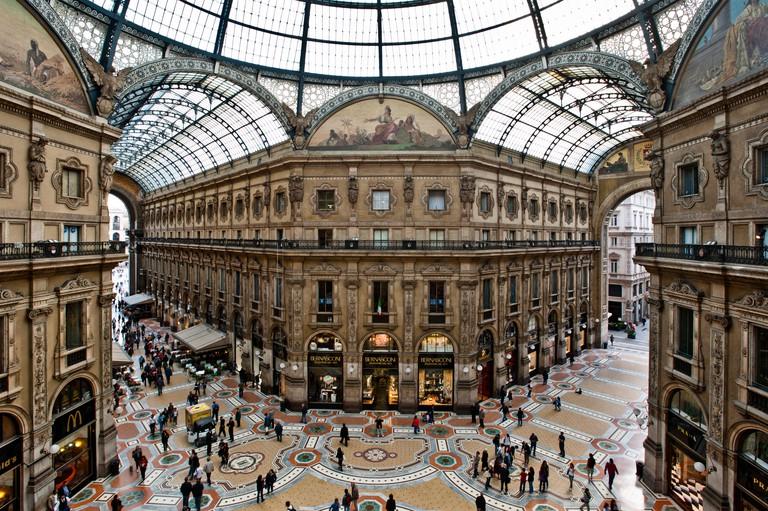 Gallery in Milan