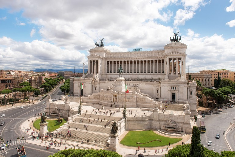 The altar of the fatherland, Vittoriano