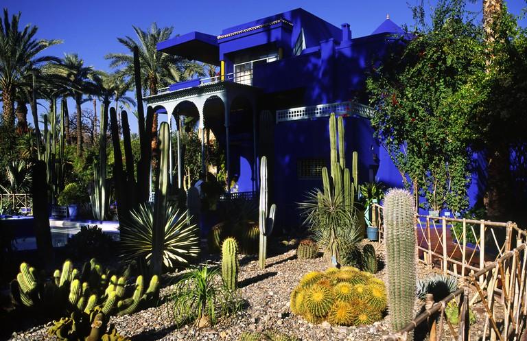 The Majorelle Gardens, Marrakesh