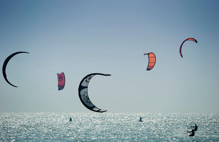 Kitesurfing - KTA Kiteboard Tour Asia - Hong Kong 2009