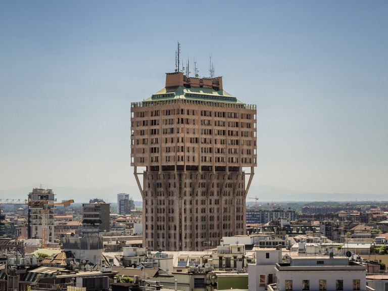 Torre Velasca in Milan, Italy
