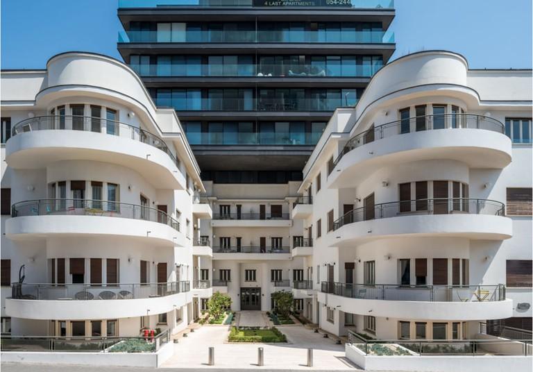 96 Hayarkon renovated Bauhaus building by Bar Orian architects - april 16th 2017, Tel Aviv-Yafo, Israel