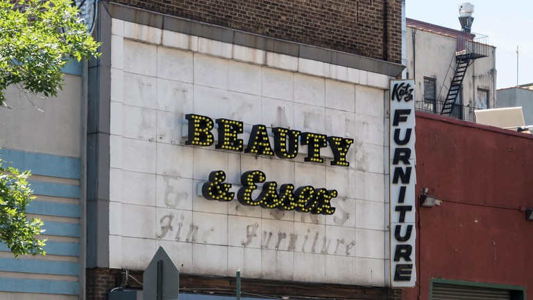 Beauty and Essex is a speakeasy bar hidden behind a pawn shop on Essex Street, Lower East Side, New York