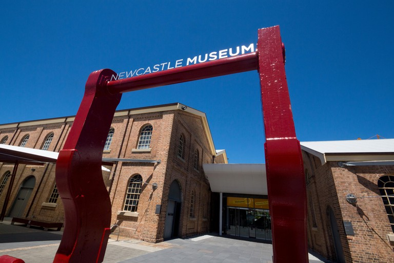 Newcastle Museum exterior and entrance