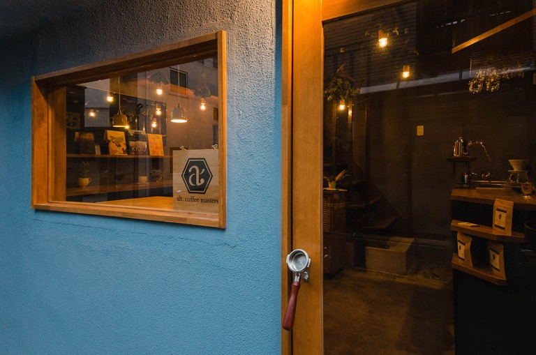 Exterior of alt.coffee roasters