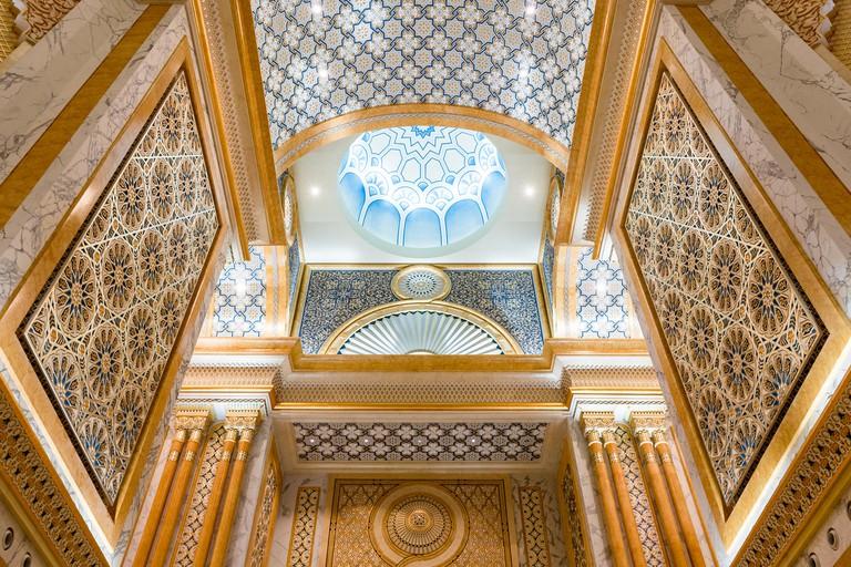 Qasr Al Watan presidential palace, Abu Dhabi
