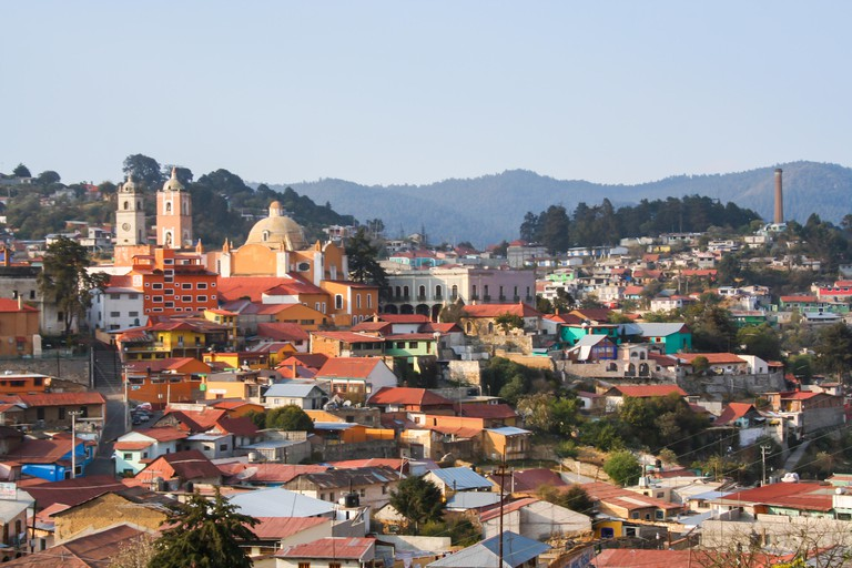 Real del Monte, Hidalgo - one of the magic towns in Mexico.