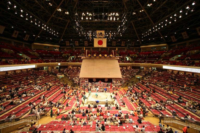 Sumo Stadium Kokugikan Tokio