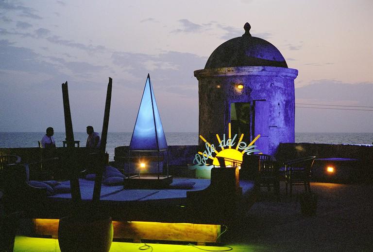 Colombia, Cartagena, cafe del Mar