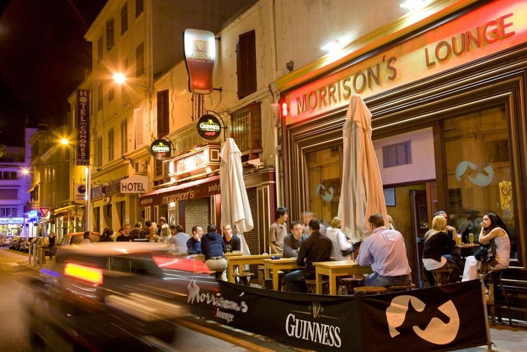 France, Cote d'Azur, Nice, Pubs and night life