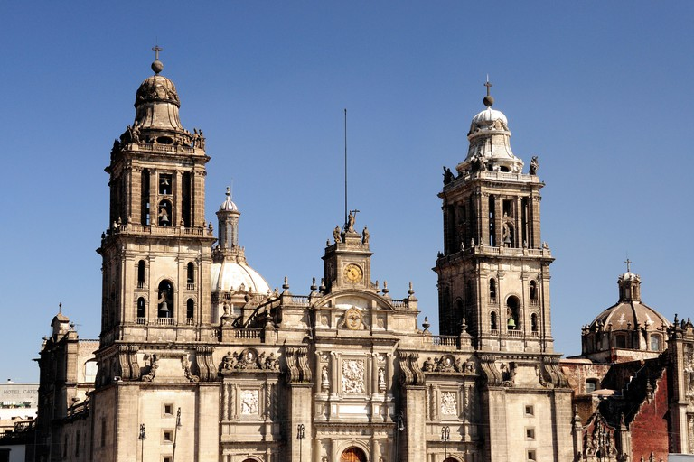 Catedral Metropolitana on Zocalo, Mexico City