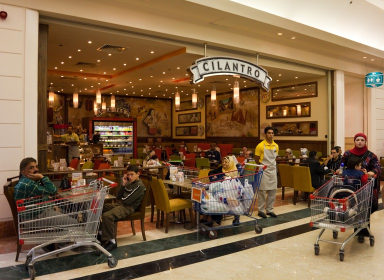 Cilantro cafe, City Center Mall, Cairo, Egypt