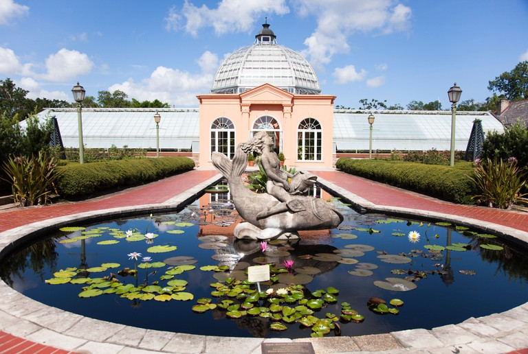 Since 1936, the New Orleans Botanical Garden in Louisiana (originally the City Park Rose Garden), has delighted visitors.