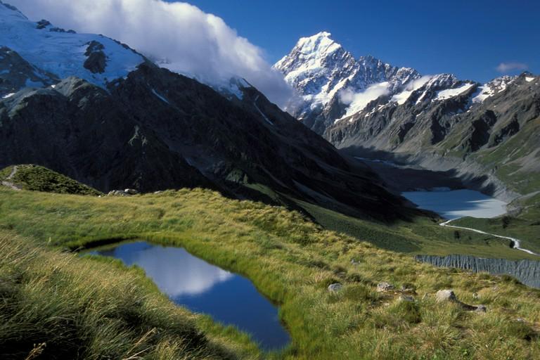 New Zealand's highest mountain Mount Cook