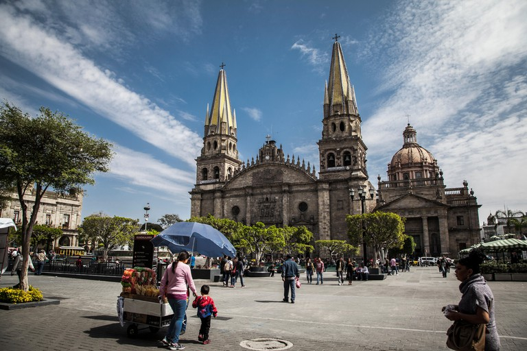 Guadalajara, Mexico. Main Cathedral