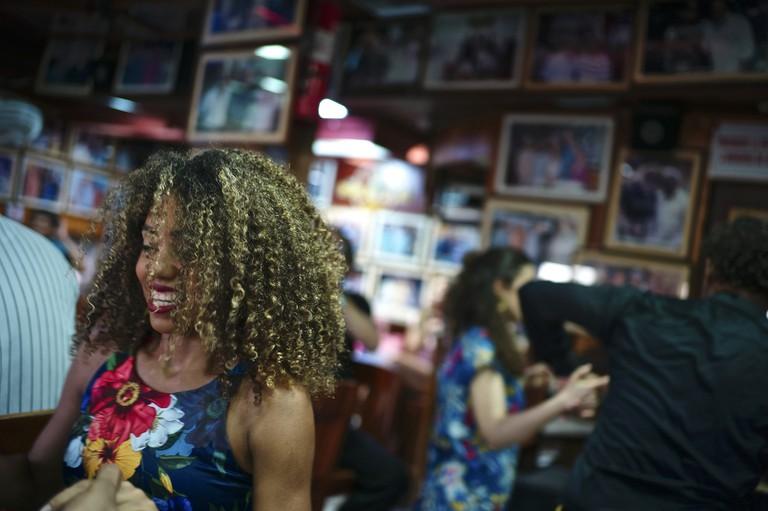 Salsa Dancing in Cartagena.