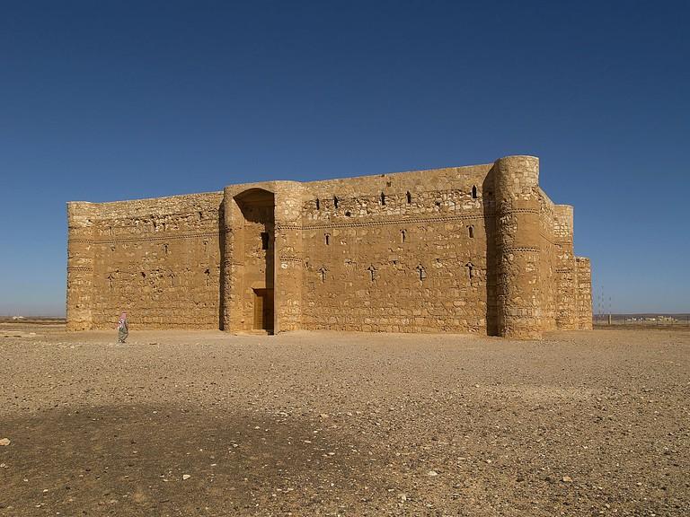 """""""Castle of al-Kharana (Qasr al-Kharana), 705-710 A.D., 8th Century A.D., stone building"""""""