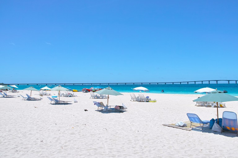 Midsummer Yonaha Maehama beach