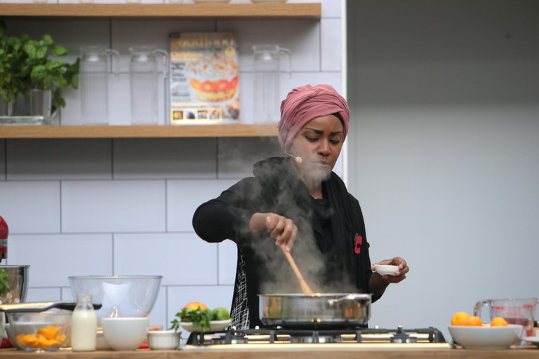 Nadiya Hussain cooking