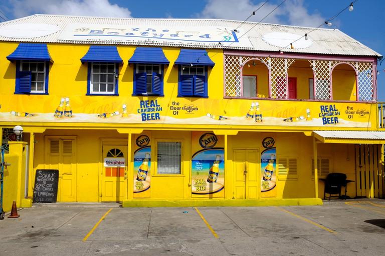 The Boatyard Beach Bar, Bridgetown, Barbados, Caribbean