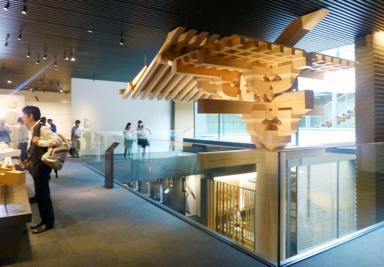 Takenaka Carpentry Tools Museum in Kobe.