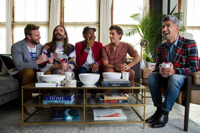Bobby Berk, Jonathan Van Ness, Karamo Brown, Antoni Porowski and Tan France.