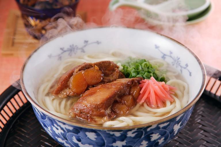 Okinawa noodles