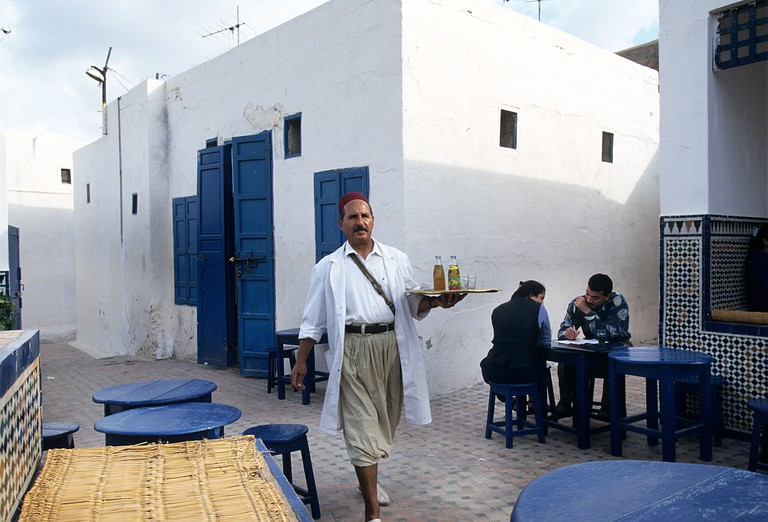 The Andalusian style Cafe Maure