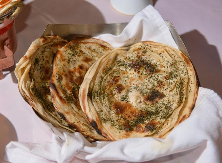 delicious naan bread