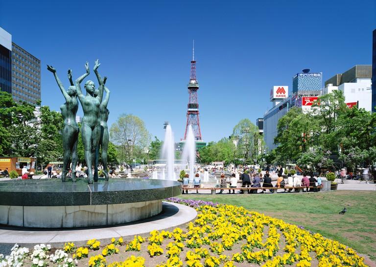 Odori Park, Japan.