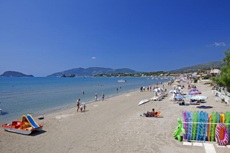 Greece, Zakynthos, Laganas, beach,