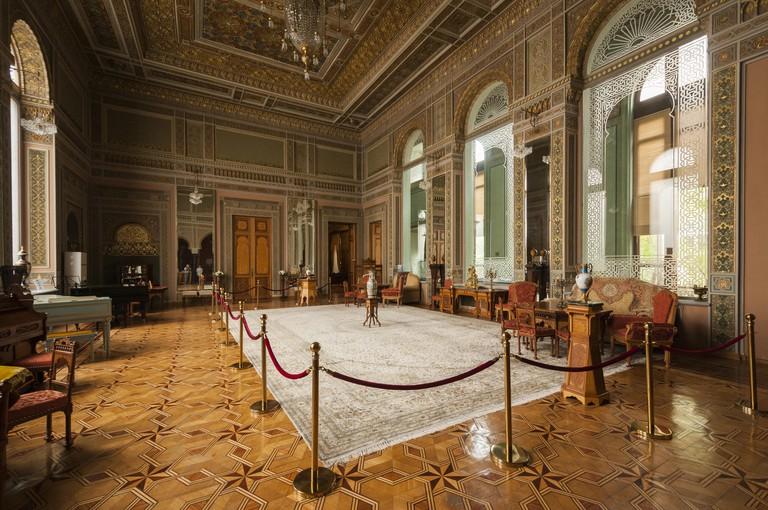 Azerbaijan, Baku, National Museum of History of Azerbaijan, interior