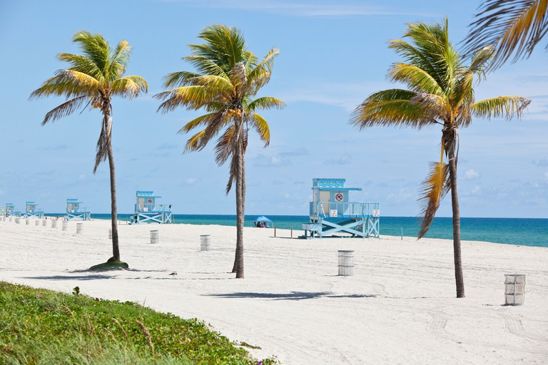 Haulover Beach, Miami, Florida, USA.
