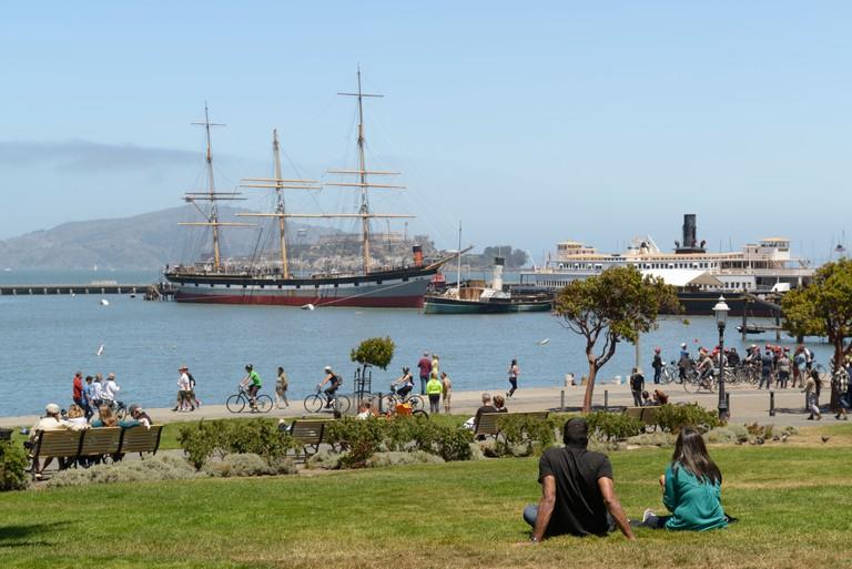 Maritime National Historic Park and Aquatic Park, San Francisco, CA