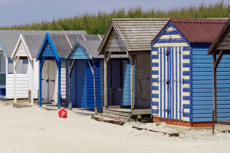 Beach huts in West Wittering, Sussex