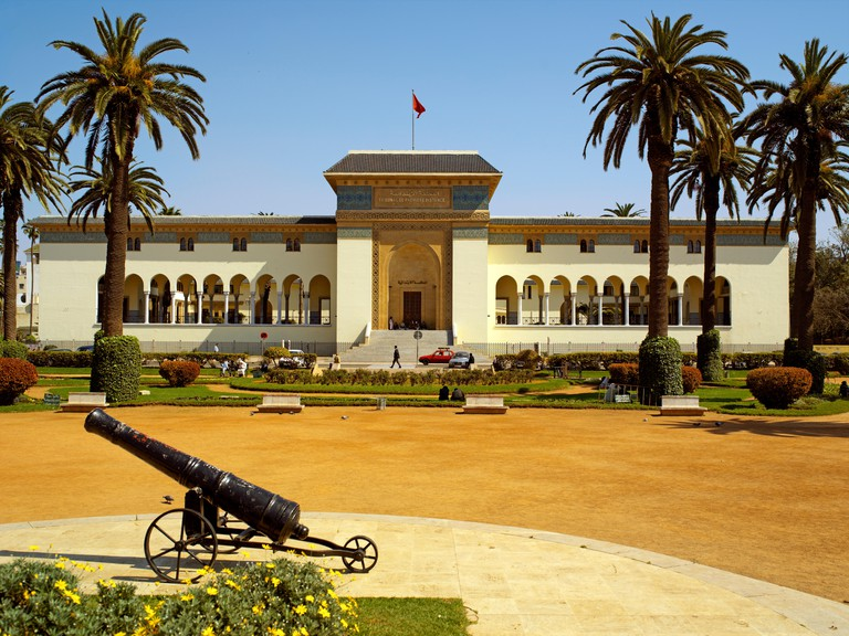 The Palais du Justice Law courts in Casablanca