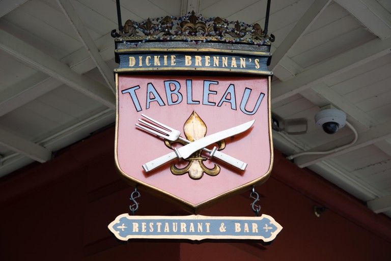 Tableau Restaurant and Bar, French Quarter, New Orleans, Louisiana, USA