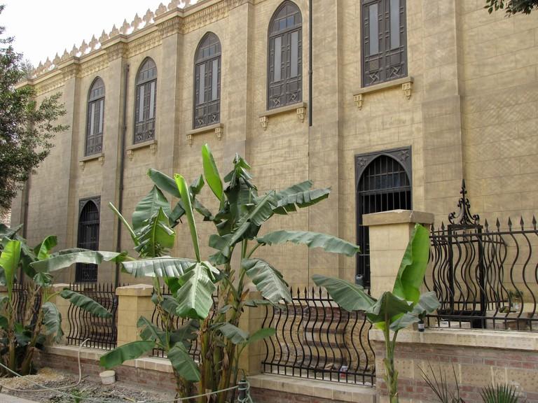 Ben Ezra Synagogue in Cairo, Egypt