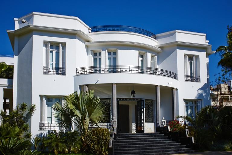 Morocco, Casablanca, Villa des Arts