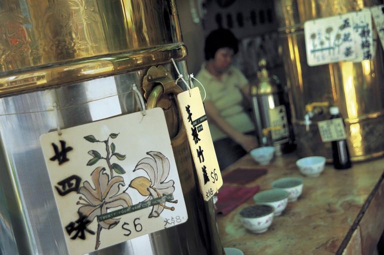 China, Hong Kong, Chinese medicine