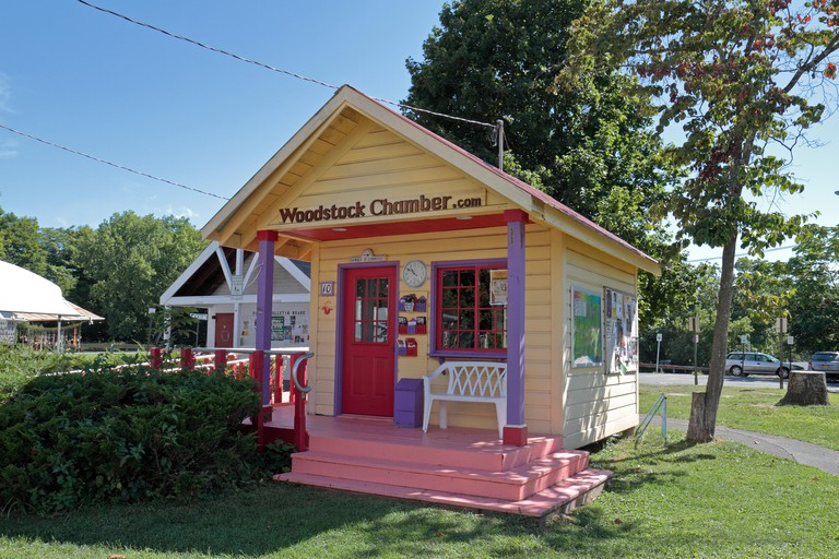 The Woodstock Chamber of Commerce in Woodstock, Ulster County, New York, United States.