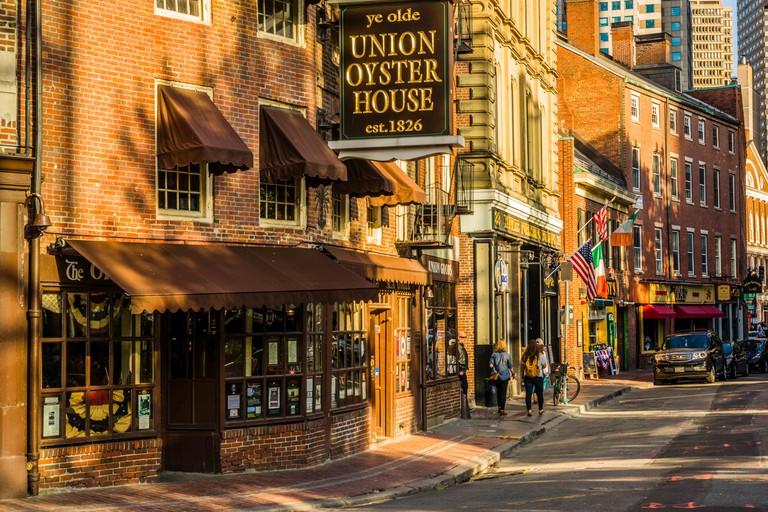 Union Oyster House _ Boston, Massachusetts, USA