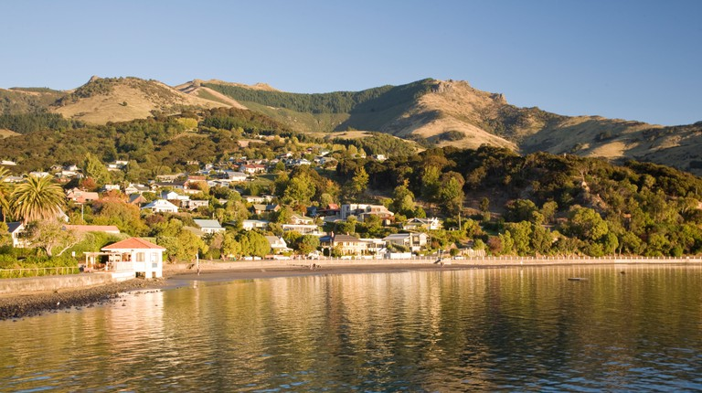 Akaroa Banks Peninsula Canterbury South Island New Zealand