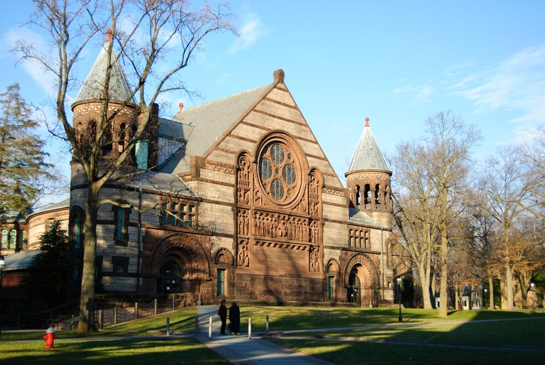 Alexander Hall on the Campus of Princeton University in Princeton New Jersey
