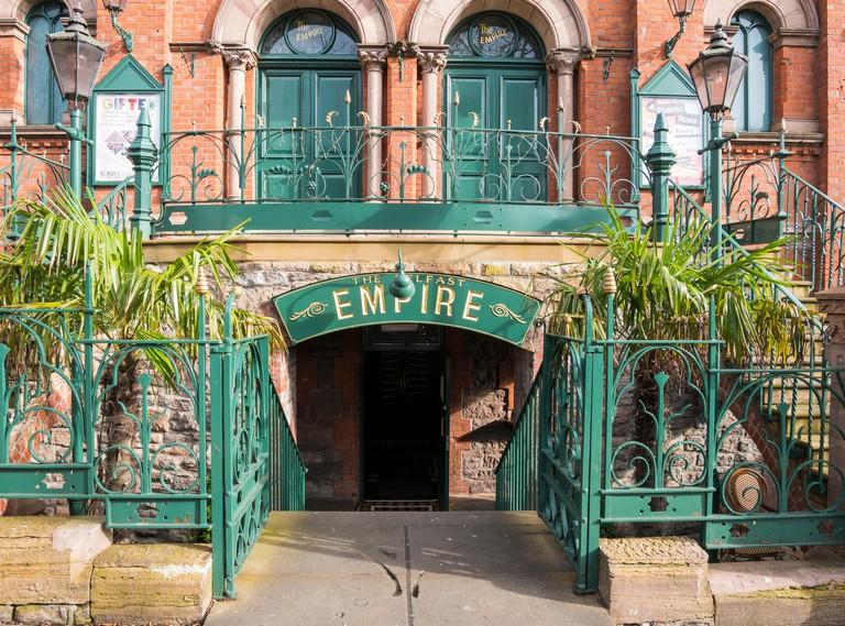 The Belfast Empire Music Hall, Botanic Avenue, Belfast