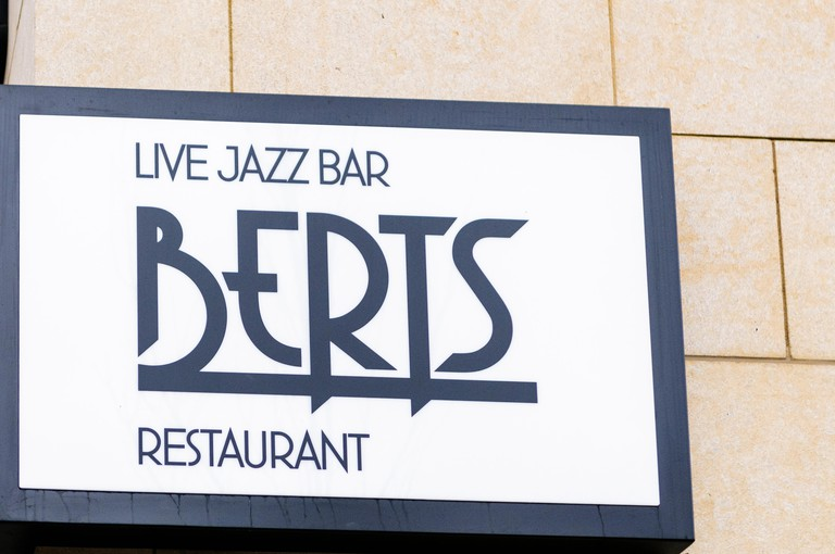 Berts Jazz Bar and Restaurant, part of the Merchant Hotel, Belfast