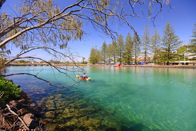 brusnwick river, australia