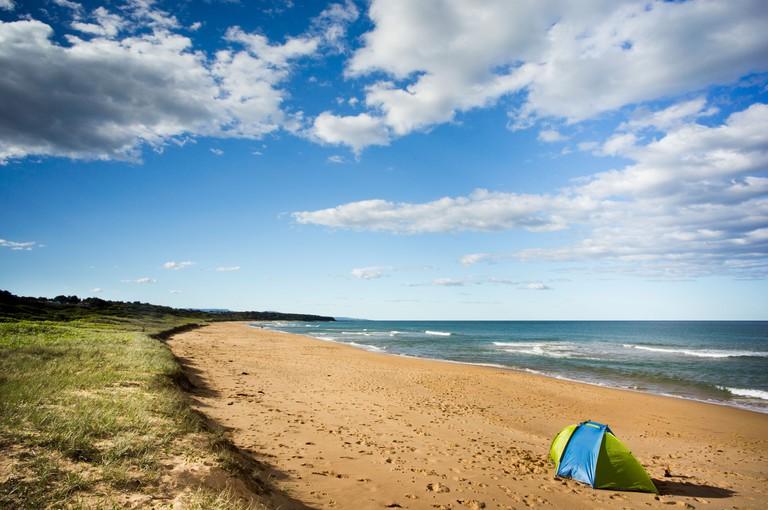 Callala Beach near Jarvis Bay, Sydney, Australia